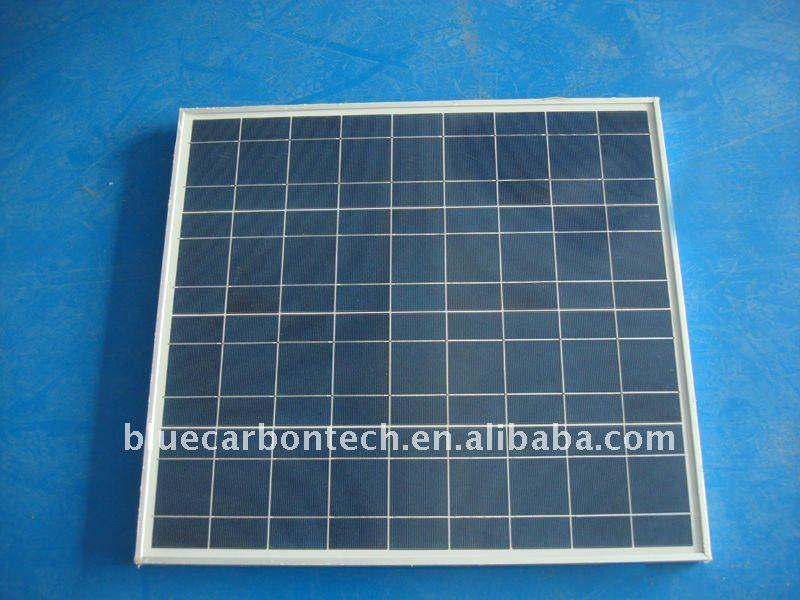 50w de alta eficiencia precio por vatios de paneles solares
