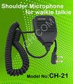 Ham radio haut - parleur Microphone Talkie Walkie président Microphone avec PTT bouton