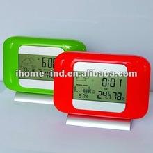 weather forecast clock,LCD alram clock