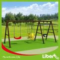 Outdoor doppelsitze schaukeln für Erwachsene und Kinder le-qq008