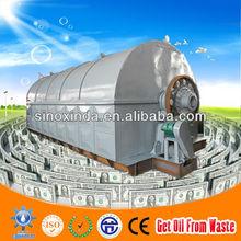 Xinda Latest Design XD-10CAP waste tire pyrolysis plant