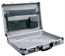 silver alumiunm brief laptop case,2012 silver aluminum brief laptop case