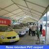 flame retardant PVC carport for hotel and company
