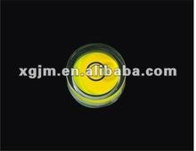 PMMA Bull eyes Spirit level circular level vial,circular, square vial,Gradienter level bubbles