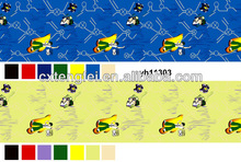 Ben 10 design printed polyester fabric for bed sets