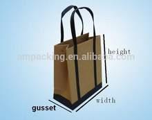wholesale handmade Brown kraft paper bags form direct manufacturer