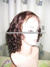 orange lace front wig