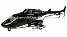 Scale fiberglass Airwolf 600 size RC Helicopter Fuselage