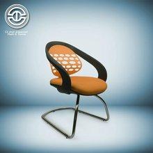 pp chair arm chrome sled chair