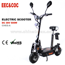 Street legal EEC electric scooter with 500W motor,oem acceptable