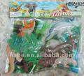 la simulación de plástico de pvc animales salvajes de juguetes