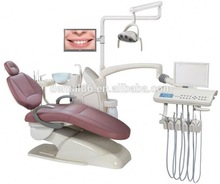 New desigh 9 memory dental equipment dental chair dental unit with real leather SDT-A560