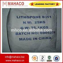 pigment znsbaso4 lithopone b301 28% factory direct