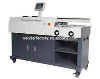 side gluing Electric 60mm A3 Perfect hot glue book binder binding machine