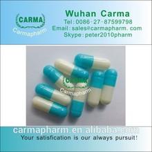 Blue white Halal Hard Gelatin Empty Capsules size 0
