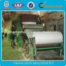 1575mm high speed a4 paper making machine, jumbo roll cutter sheet paper machine