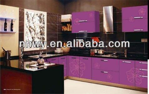 Cuisine uv mdf panneau mural d coratif panneaux en fibres id du produit 60981 - Panneau mural cuisine ...