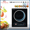 2014 black crystal plate with touch sensor induction range RM-A02