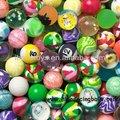 brinquedo máquina de vending de borracha bolas saltitantes 27mm atacado