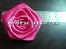 satin ribbon rose trim