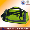 Durable eco-friendly green waterproof gym bag