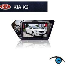 KIA K2 car dvd player gps navigation bluetooth dvbt isdb-t tv radio stereo