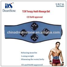 Fitness Equipment TCM Therapy Health Massage Belt - High Quality Adjustable TENS EMS Electric Slimming Massage Belt