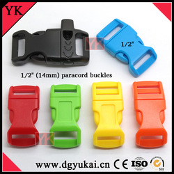 """3/8"""" curved metal side release buckle"""