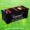 Reliable YUASAN JIS Low Maintenance Free Heavy Duty Lead Acid Battery for Cars-12V150AH