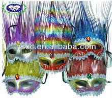 China Manufacturer New Design Color Laser Cut Masquerade Mask