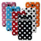 Durable Flexbile Polka Dots TPU Case for Samsung Galaxy Note 2,Wholesale for Samsung Galaxy Note 2 TPU Case