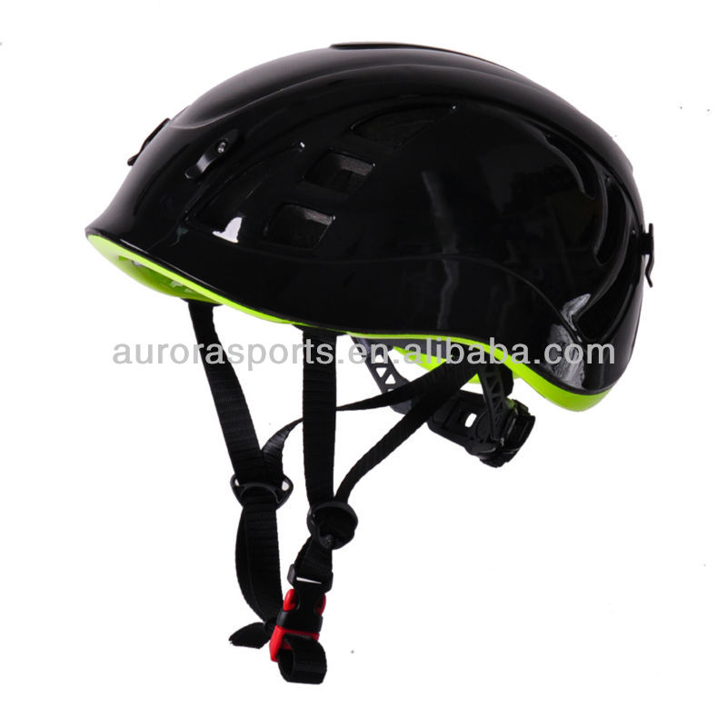 2014 high quality in-mould rock climbing helmet