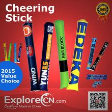Custom Promotion PE Inflatable Cheering Stick