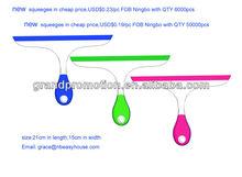 0.18USD 2013 patent new plastic popular cute window squeegee