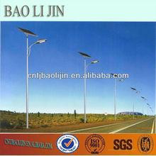 plastic powder coated solar street lights for sale