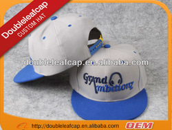 2014 Wholesale hot sell embroider acrylic custom snapback hats