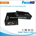 Shunun sx-vx01 300m signal vga émetteur et récepteur rj45