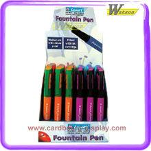 Corrugated Cardboard Counter Gel Pen Pencil Mini Speaker Display Stand