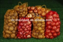 raschel mesh bag for potato and onion
