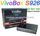 azclass/vivo box s926 hd twin tuner iks/sks full hd satellite receiver better than azbox bravissimo