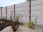 New!Hot sale! COLORMIX WPC garden fencing like real wood