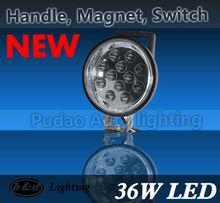36w LED work light magnetic base