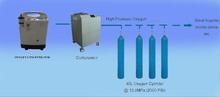 Piccola bombola di ossigeno portatile/ossigeno di riempimento impianto/ossigeno pompa di riempimento