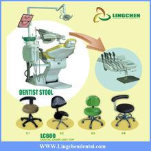 Top mounted fashion medical porcelain furnace dental chair dental equipment for sale