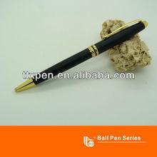 TTX-A30B Gold part black pen holder promotional ball pen