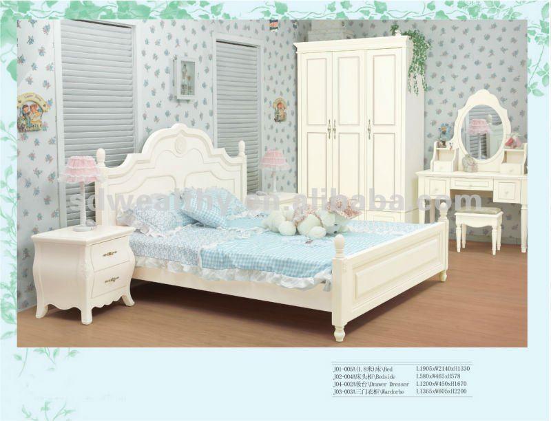 White Solid Wood Bedroom Furniture H010 Buy Modern Bedroom Furniture