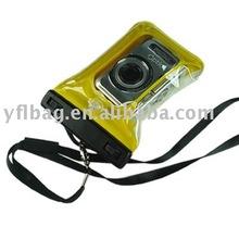 Sealock yellow pvc waterproof camera pouch