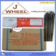 (J WHEEL brand)welding rods AWS E6013 J421/ electrode for welding cast steel