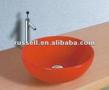 porcelain wash basin toilet (8003 red color)