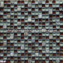 elegant Glass mix stone mosaic tile for decorative walls